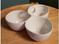 CRATE & BARRELL DIPPING BOWLS