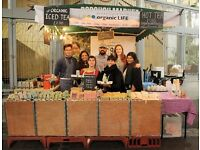 Stall Manager - Borough Market Stall - Tea, Spices, Coconut Products