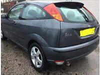2004 Ford Focus 1.6 Edge, Long MOT, £695