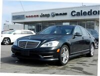 2012 Mercedes-Benz S-Class 4MATIC NAV LEATHER SUNROOF BACKUP CAM