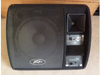 """Peavey PV 15 PM 200 W 15"""" Powered Monitor NEVER USED"""