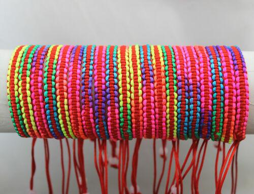 70pcs Newest Wholesale Lots Mixed Fashion Red Charm Bracelets Pure Handwork