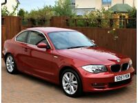 BMW 120 Coupe SE Diesel, 6 Speed Manual, Full Service History. 72365 Miles, Leather, Immaculate car.