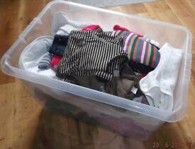 Bundle of childrens' clothes