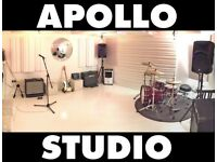 SUPERCOOL REHEARSAL STUDIO. MANOR HOUSE. FREE BACKLINE. FREE PARKING. WIFI. AIRCON. Music/Room/Space