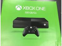 Xbox One Console 500GB, Black, Boxed *MINT CONDITION* (all accessories included) 0203 556 6824