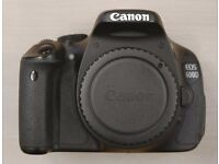 Canon EOS 600D - Battery Charger and 6 Batteries - £225.00