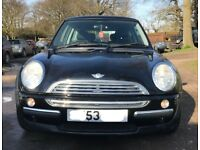 Mini one for sale, just passed MOT, only 2 former keepers, low mileage, drives perfect.