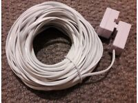 Telephone Extension Cable and Adapter