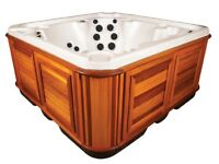 Arctic Spas: Timberwolf - Canadian Hot Tub - £127.77 P/M. 36 Months Interest Free Finance