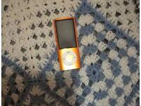 apple ipod nano 8gb - orange