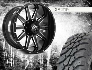 HOTTEST WHEELS IN THE MARKET !!! XF OFFROAD !!! PACKAGE DEALS !! SHIPPING AND INSTALL AVAILABLE