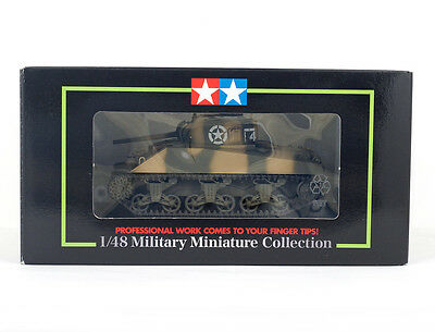 TAMIYA 26512 1/48 US MEDIUM TANK M4 SHERMAN 5th Army , FINISHED MODEL , NEW