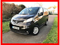 7 Seater 2015 Nissan NV200 1.5 dCi Acenta Combi 5dr -- Diesel-- Part Exchange Welcome -- Drives Good