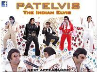 Patelvis the indian elvis night