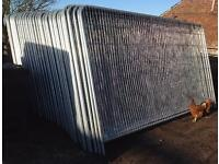 Temporary Security Heras Style Fence Panels * New *