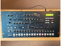 KORG MS2000R synthesizer in excellent condition