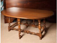 Ercol Classic Gateleg Coffee Table, Solid Elm, Fab! Collection from Loanhead.