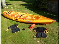 Islander Paradise II tandem sit-on-top kayak