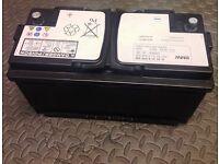 GENUINE BMW CAR AGM BATTERY 12 volts 90Ah 900 CCA Float voltage is 12.6 Volts