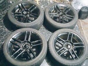 """16"""" rims with tires 4x100"""