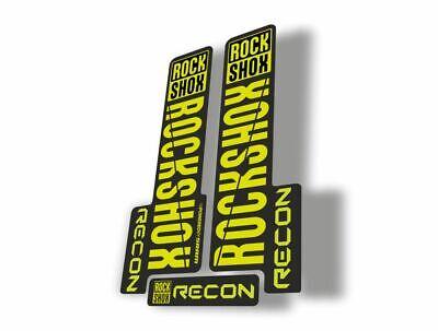 Rockshox sid fork stickers am41 adhesive stickers