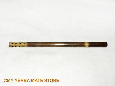 Yerba Mate - Traditional Bamboo Bombilla - Filtered Straw - Free Shipping