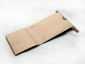 1/2 Lb Lined Kraft Tin Tie Bags - 3-3/8
