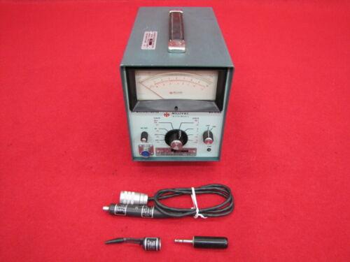 MILLIVAC RF MILLIVOLTMETER MV-828A WITH PROBE(A+)