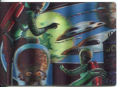 Mars Attacks Heritage Magic Of 3-Dimension Chase Card #3
