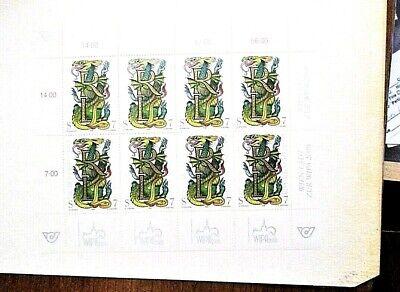 AUSTRIA, 1991-2000, DAY OF THE STAMP Souvenir Sheet -MNH - VERY FINE