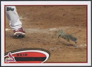 2012 Topps #93B Skip Schumaker Rally Squirrel SP