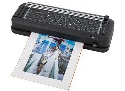 Thermal Laminating Machine 3 In 1 Laminator Paper Cutter And Puncher