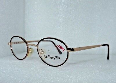 GALLERY DA 41-17-120 G514 CHILDREN'S EYEGLASSES GLASSES FRAMES LENSES GOLD (Gallery Glasses Frames)
