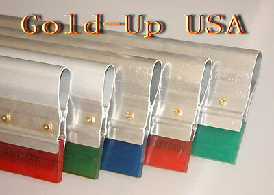 4 Screen Printing Squeegee-aluminum Handle With 85 Duro Blade