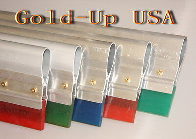 6 Screen Printing Squeegee-aluminum Handle With 70 Duro Blade