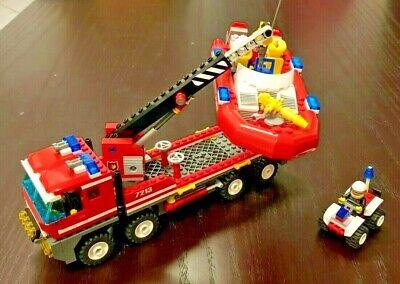 LEGO CITY 7213 - Autogrù e gommone dei Pompieri