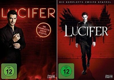 Lucifer Staffel 1+2 DVD Set NEU OVP