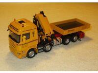 WSI 02-2215 Scania R6 Highline 10x4 Ballast Box Palfinger 150002 1:50 NEU OVP