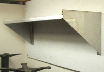 16 X 72 Stainless Steel Wall Shelf