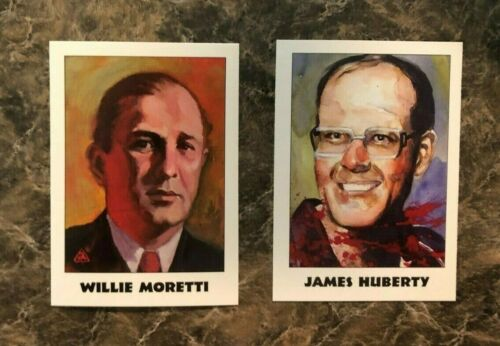 1991 1992 Eclipse TRUE CRIME TRADING CARDS Complete Set All 220 cards