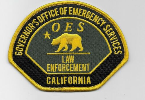 California Office of Emrg Services Police Division State CA