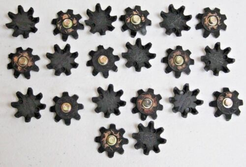 20Pcs SoftSpikes Soft Spikes Black Golf Shoe Spike Replacement Cleat Screw