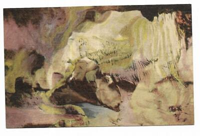 Cave Of The Winds Colorado Springs (Vintage Colorado Linen Postcard Curtain Hall Cave of the Winds Manitou)