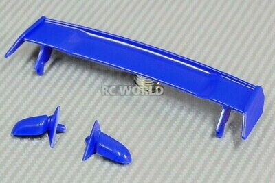 RC 1/10 RC Car Accessories -WING SPOILER -MIRRORS -Match Col