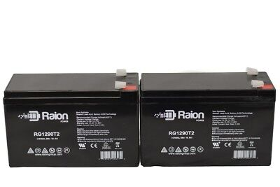 12V 9AH Replacement SLA Battery for APC Back UPS Pro 500U  2pack (Apc Back Ups Pro 500 Replacement Battery)