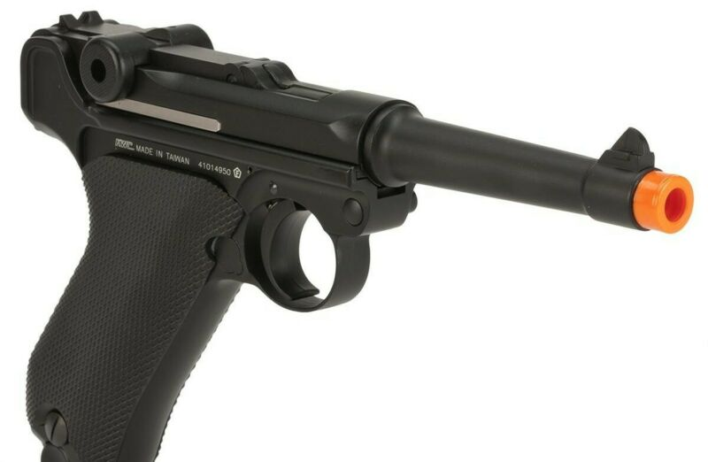 KWC CO2 gas Blowback P08 Luger Parabellum WW2 Full Metal Airsoft Pistol  330 FPS