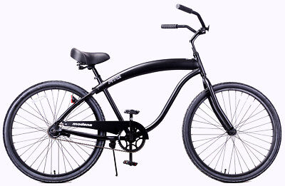 Fito Modena II Alloy 1-speed Men Aluminum Light Weight Beach Cruiser Bike AllMBK