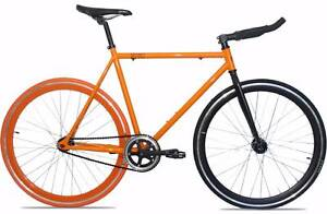New Orange and Black Fixed gear/Single speed fixie bicycle Scarborough Stirling Area Preview