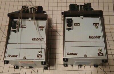 Rainin Rabbit Peristaltic Pump Minipuls 2 For Repair Parts. Quantity 2